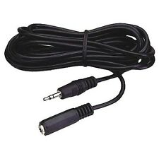 "12 ft 3.5mm 1/8"" stereo headphone extension cord/cable"