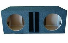 "10"" inch DUAL SUBWOOFER SUB BOX ENCLOSURE Ported Vented Made By Obcon"