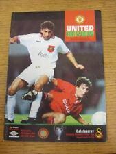 20/10/1993 Manchester United v Galatasaray [Champions League] (Light Crease, Tea