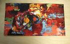 "Rocky Balboa Apollo Creed Boxing Painting Replica Print 9"" x 16.5"" Movie Prop"
