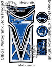 YAMAHA YZF R125 08 - 16 Bleu Noir Moto réservoir PAD motografix Gel Protecteur