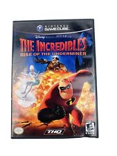 The Incredibles: Rise of the Underminer (Nintendo GameCube) Complete!