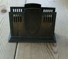More details for wmf art nouveau burnished metal letter/napkin holder -circa 1910