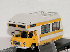 BARKAS B1000 CARAVAN 1973 Yellow Istmodels 1/43 Ref IST 298MR