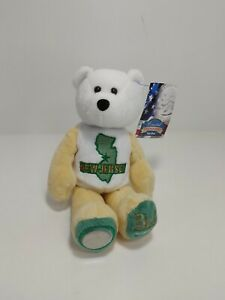Limited Treasures 50 States Of America State Quarters Coin Bear - New Jersey