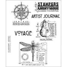 """Classics #1"" Stampers Anonymous by Tim Holtz"" 8.5""X7"""