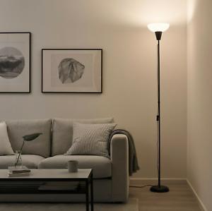 Ikea TAGARP Floor Uplight Lamp Uplighter, Black/White - Brand  NEW