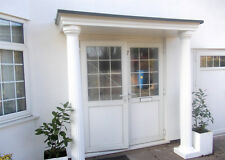 Sienna GRP Complete Door Entrance Canopy and Columns Package. *Free Delivery*