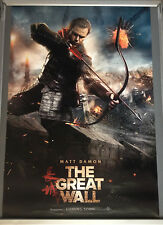 Cinema Poster: GREAT WALL, THE 2017 (Main One Sheet) Matt Damon Tian Jing Willem