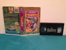 The jungle book 30th  VHS tape & clamshell case