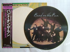 PICTURE VINYL / PAUL McCARTNEY & WINGS BAND ON THE RUN / WITH OBI BEATLES