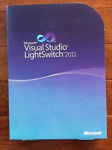 Microsoft Visual Studio LightSwitch 2011, L3D-00171, 885370321210 NEW Sealed