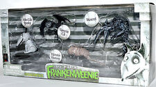 Disney Frankenweenie After Live Sparky Hamster Mummy Vampire Cat Wererat 4 Pack