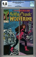 Kitty Pryde and Wolverine #1 CGC 9.8 NM/MT WHITE PAGES