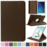 PU Leather Rotating Folio Stand Case Cover For Samsung Galaxy Tab A 9.7 SM-T550