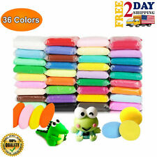 Soft Clay For Slime 36 Pack Great For Butter Slime 36 Colors Art DIY Crafts
