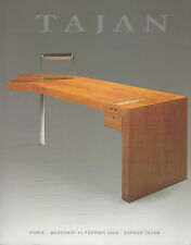 Tajan 20th Century Furniture Design Art Deco French Verrerie Gallé Ceramique
