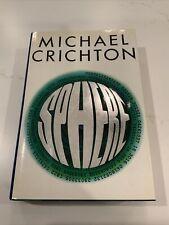 Sphere ~ Michael Crichton ~ True First 1st/1st Edition Printing ~ Borzoi ~ 1987