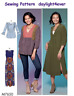 Women Top Tunic Dress Sewing Pattern 7650 McCall's Size 6-14 New #r