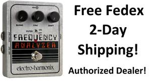 New Electro-Harmonix EHX Frequency Analyzer Ring Modulator Guitar Effects Pedal
