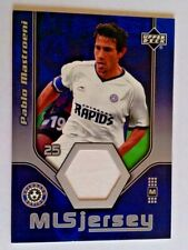 2005 Upper Deck MLS Game Worn Jersey Patch Pablo Mastroeni