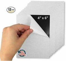 Flexible Adhesive Magnetic Sheets 4-inch x 6-inch Works Great for Pictures! Cuts