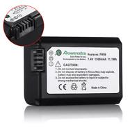 NP-FW50 Battery For Sony Alpha NEX-3 NEX-5N NEX-6 NEX-7 A33 A55 A7 A7R Camera