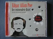 Edgar Allan Poe - Der entwendete Brief / Krimi Klassiker