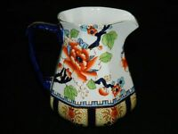 Large Antique Losol Ware Keeling Shanghai Pattern Pitcher Made in England