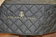 Steinway & Sons Model O, New Quilted Cover, Steinway & Sons LOGO on Side
