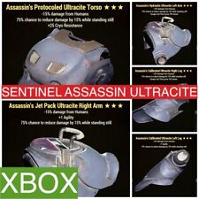 SENTINEL ASSASSIN ULTRACITE POWER ARMOR XBOX FO 76 PVP SENT PA OP