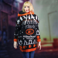 """1:6 Scale Knit Sweater Hoodie For 12"""" PH JO Female Body Doll Casual Clothes"""