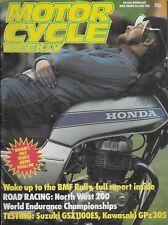 *MOTOR CYCLE WEEKLY MAGAZINE - Week ending21stMay 1983 [N1]