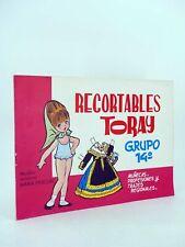 RECORTABLES TORAY G 14. MUÑECAS 105 A 112. COMPLETA (María Pascual) 1962. OFRT