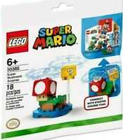 LEGO SUPER MARIO MUSHROOM SET 30385 SURPRISE NEW POLYBAG 18 PIECE CONNECT 71360