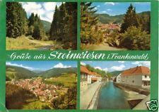 AK, Steinwiesen im Frankenwald, vier Abb. 1985