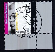 BRD 2002 gestempelt ESST Berlin Eckrand unten rechts MiNr. 2233