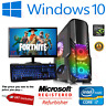 ULTRA FAST Gaming PC Bundle Intel Core i7 16GB 1TB Windows 10 GTX 1050 TFT SET