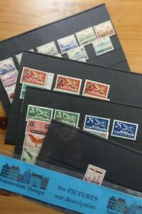 Switzerland Air Mail beautiful MNH (!) collection on stockcards - very high cat!