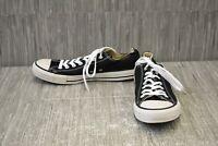 **Converse Chuck Taylor All Star (M9166) Low Top Shoe - Men's Size 9 - Black