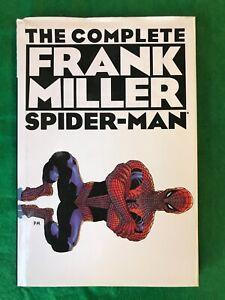 Complete Frank Miller Spider-Man HARDCOVER Book HC Marvel Comics (T 2879)