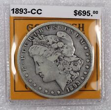 1893 CC Morgan Silver Dollar Carson City