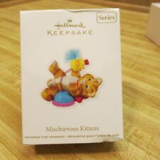Hallmark Christmas Ornament Mischievous Kittens 13th in series 2011