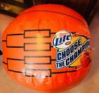 MILLER LITE (1) ORANGE Basketball Bracket BEER INFLATABLE BRAND NEW NEVER USED!!