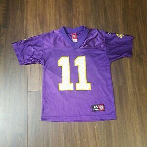 Reebok Kids Purple #11 Culpepper Football Jersey Size M(10-12) Vikings