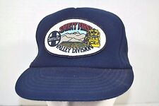 Santa Fe Railroad Valley Division Safety First Blue  Baseball Cap Snapback