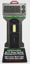 6526 NEBO - ARMOR 3 Tough WATERPROOF Flashlight - 4 Light Modes - Impact Tested