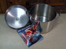 1801 Revere Ware 16 QT Stock Canning Pot Copper Clad Stainless / Domed Lid