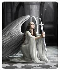 Anne Stokes 'The Blessing' Gothic Polar Fleece Throw Blanket Angel Sword Rug