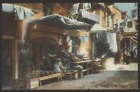 Egypt. Cairo. The Bazaars - Vintage LL Colour Printed Postcard